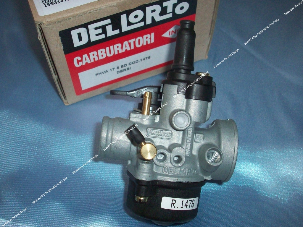 flexible carburettor dellorto phva 17 5 ed separated greasing choke with lever. Black Bedroom Furniture Sets. Home Design Ideas