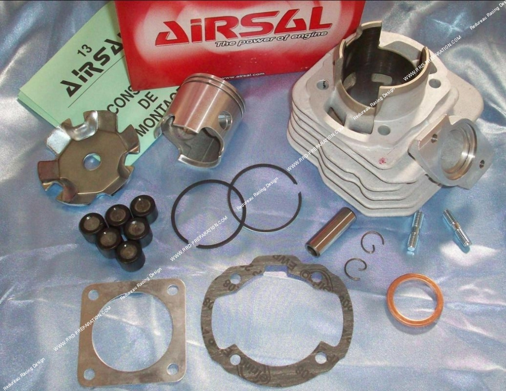 Cylinder Head Without Airsal Piston Aluminum 46mm 70cc Kymco And Spark Plug Wiring Harness Scooter Wheels With Flange Dio Honda Cx Dj Bsv Sym