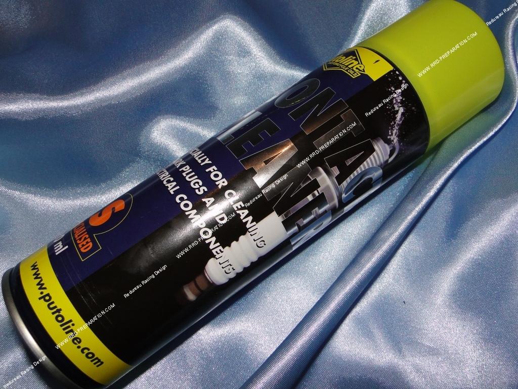 Bombe nettoyant bougie contact lectrique putoline - Bombe contact electronique ...