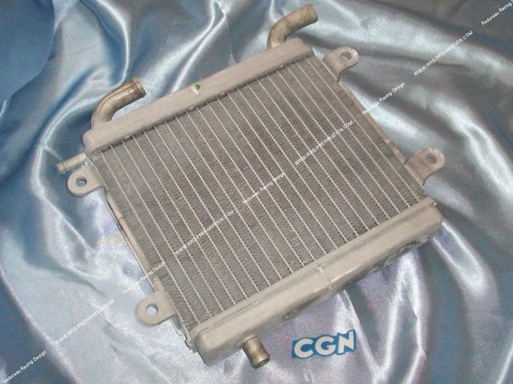 radiateur de refroidissement alu cgn 20cm x 19 5cm pour mbk nitro yamaha aerox proto scooter. Black Bedroom Furniture Sets. Home Design Ideas