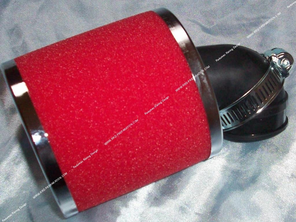 filtre air cornet mousse athena racing coud 90 30mm. Black Bedroom Furniture Sets. Home Design Ideas