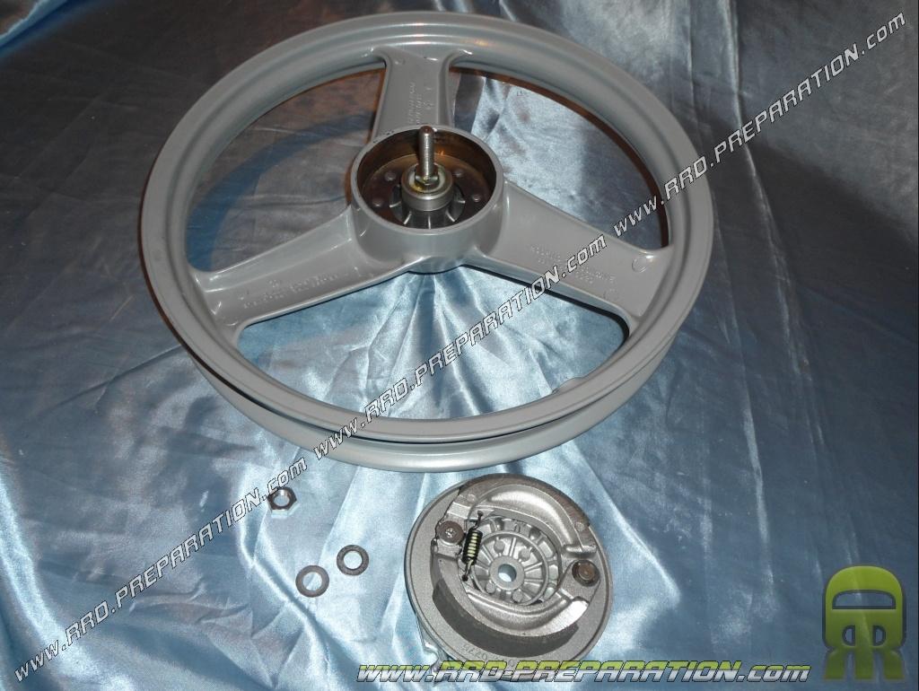 jante roue avant grise tambour roulements axe d. Black Bedroom Furniture Sets. Home Design Ideas