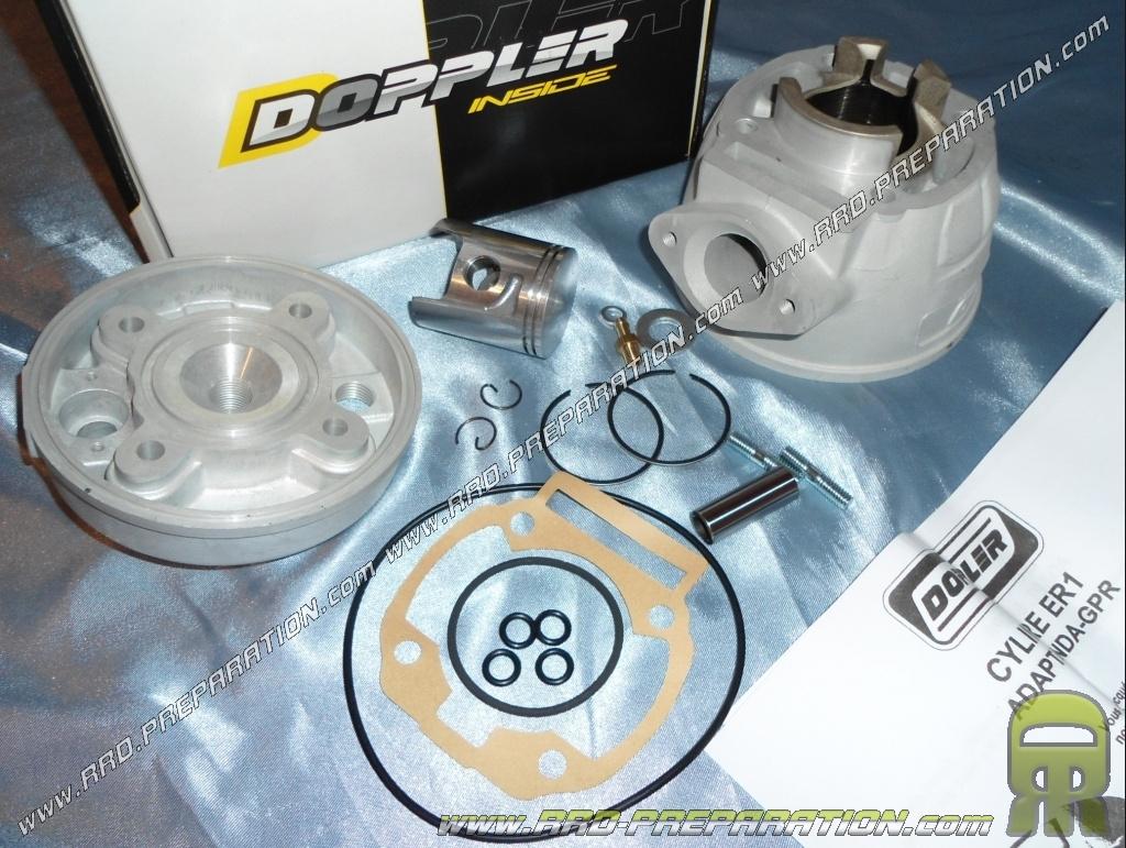 kit 50cc high engine 40mm doppler vortex aluminum derbi euro 3. Black Bedroom Furniture Sets. Home Design Ideas