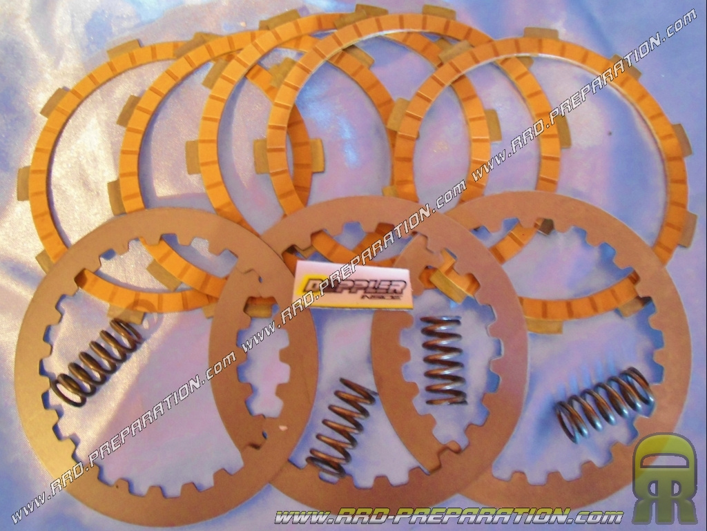 embrayage disques intercalaires ressorts renforc s doppler renforc pour minarelli am6 www. Black Bedroom Furniture Sets. Home Design Ideas