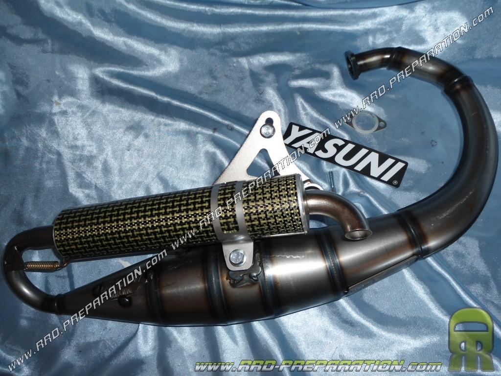 NG Spirit D/échappement YASUNI R Noir pour MBK Booster Rocket 50/cc Track naked Yamaha BWs Stunt