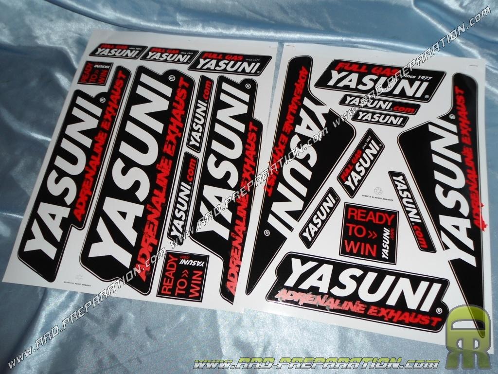 Planche D'autocollants YASUNI Assortis (35X45cm)