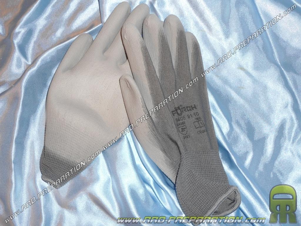 Paire de gants de travail r sistant la chaleur et - Ciment resistant a la chaleur ...