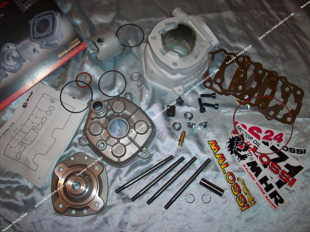 kit 80cc high engine 50mm malossi mhr team aluminium derbi euro 1 2. Black Bedroom Furniture Sets. Home Design Ideas