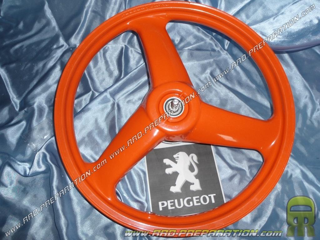 Rim Front Wheel Orange Drum Bearings Shaft Original Peugeot 103 Rcx 3 Sticks Helix 16 Www Rrd Preparation Com