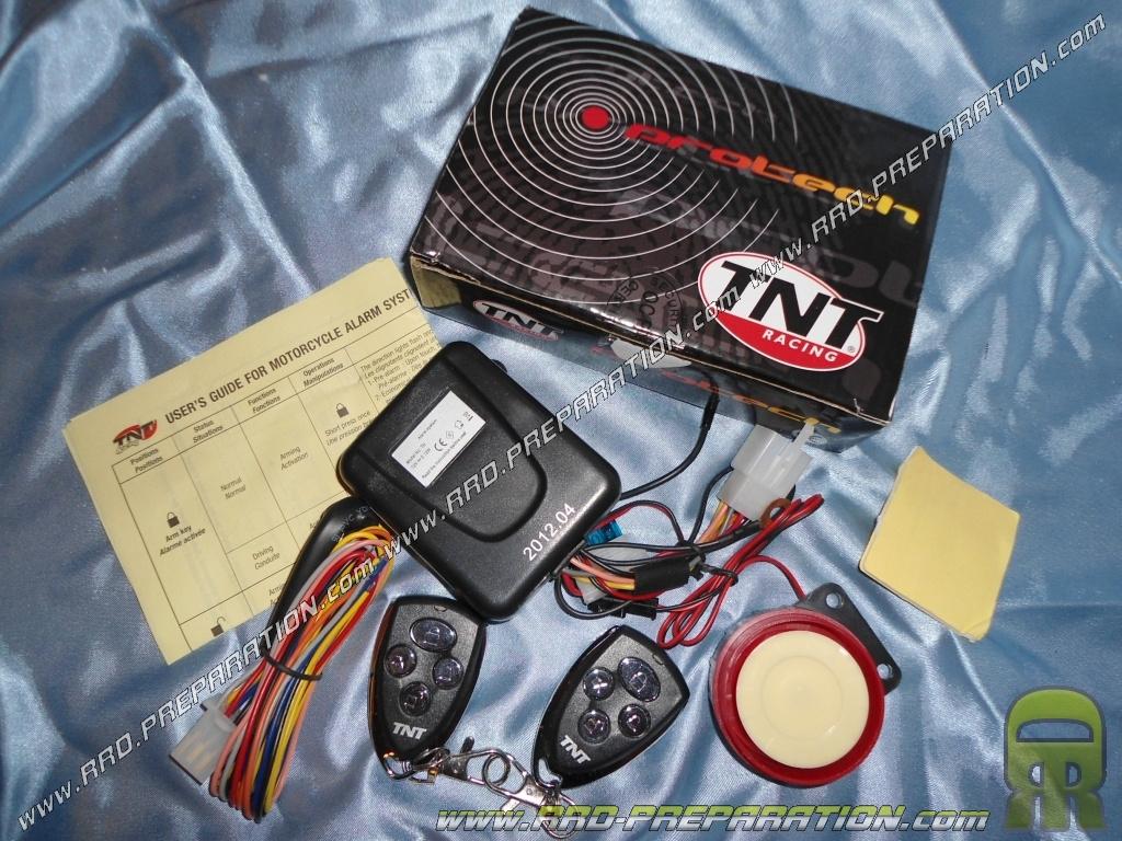 Alarme tnt compl te universelle avec 2 t l commandes - Telecommande tnt universelle ...
