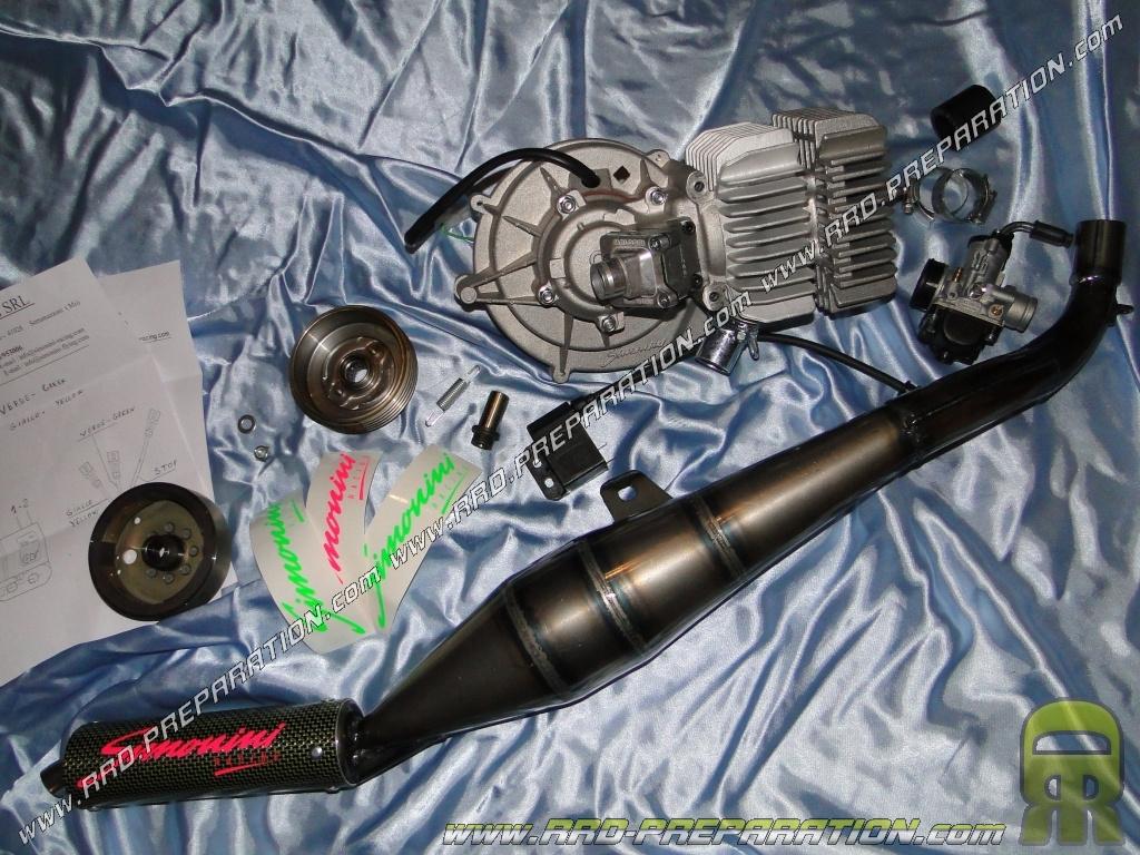Simonini Complete Engine 80cc Racing For Piaggio Ciao Bravo Boxer Diagram Si