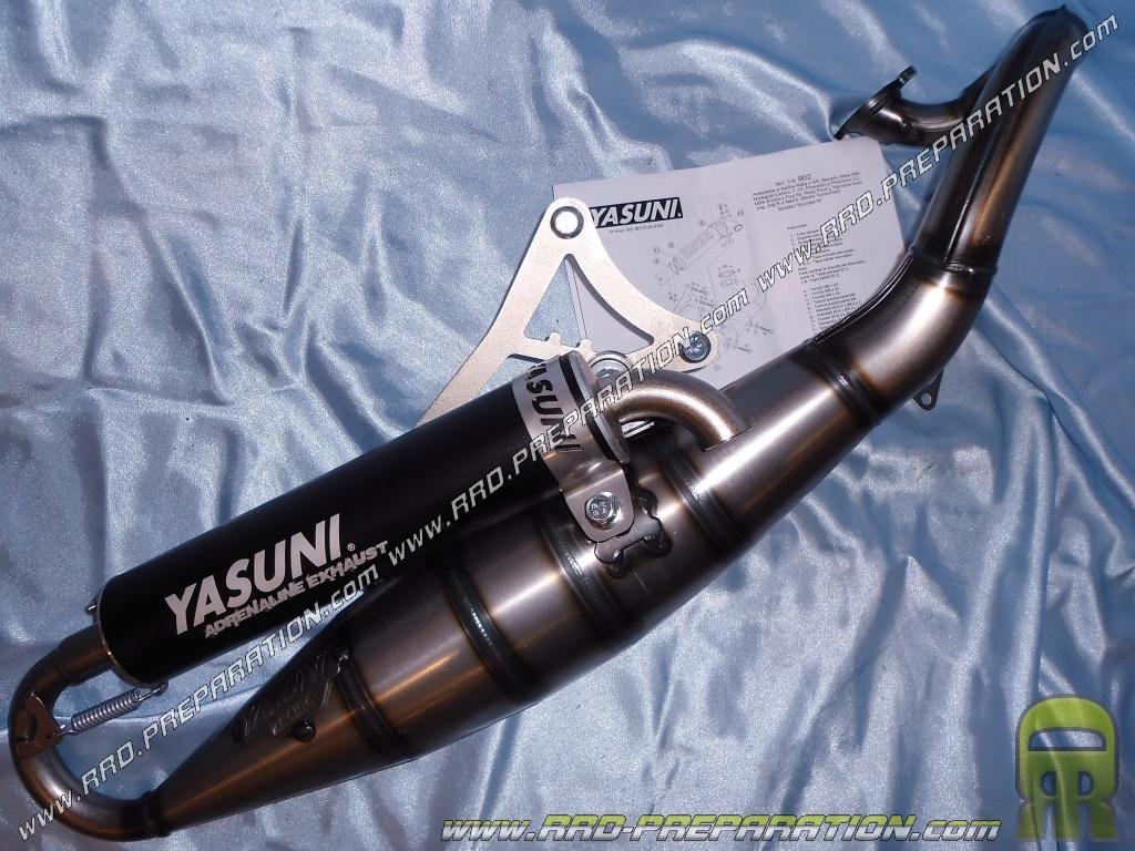 /DERBI GP 1/Open 50 Yasuni exhaust Scooter R aluminum/