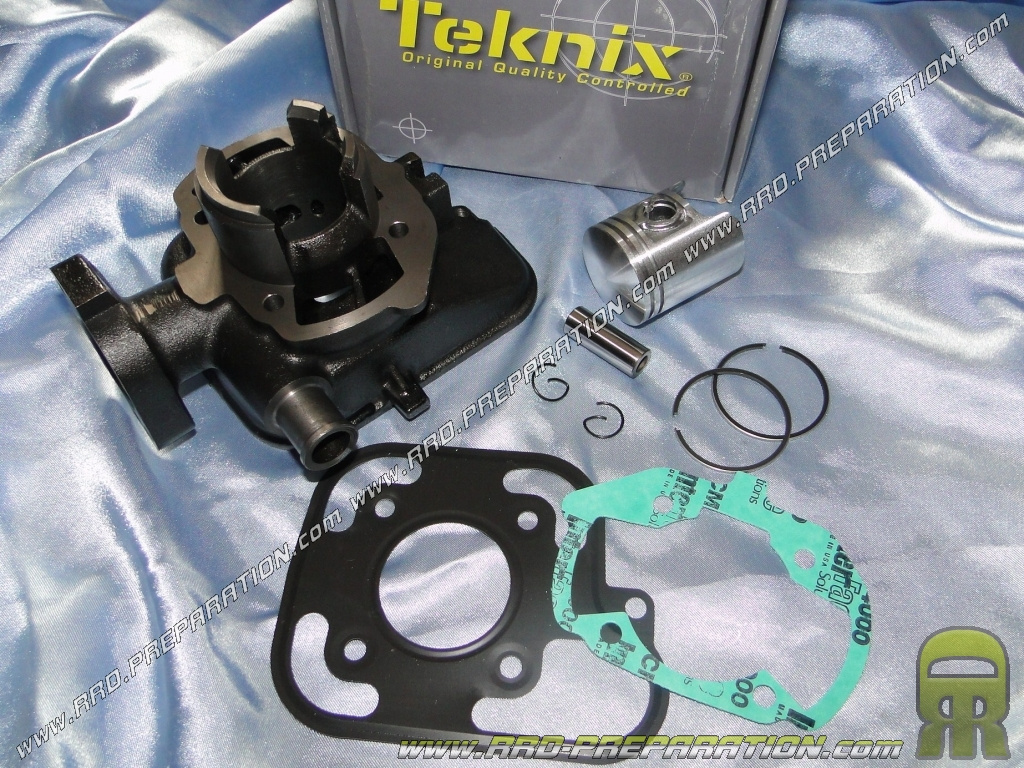 roll piston without cylinder head 50cc 40mm fonte teknix for peugeot ludix blaster speedfight. Black Bedroom Furniture Sets. Home Design Ideas