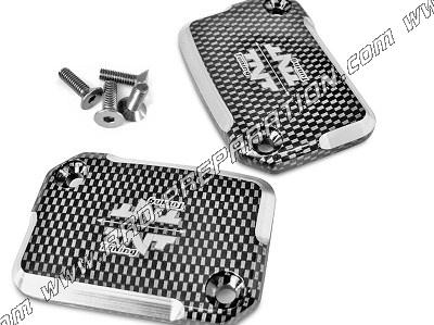 aluminum master cylinder cap TNT Tuning scooter NITRO / AEROX color choices  - www rrd-preparation com