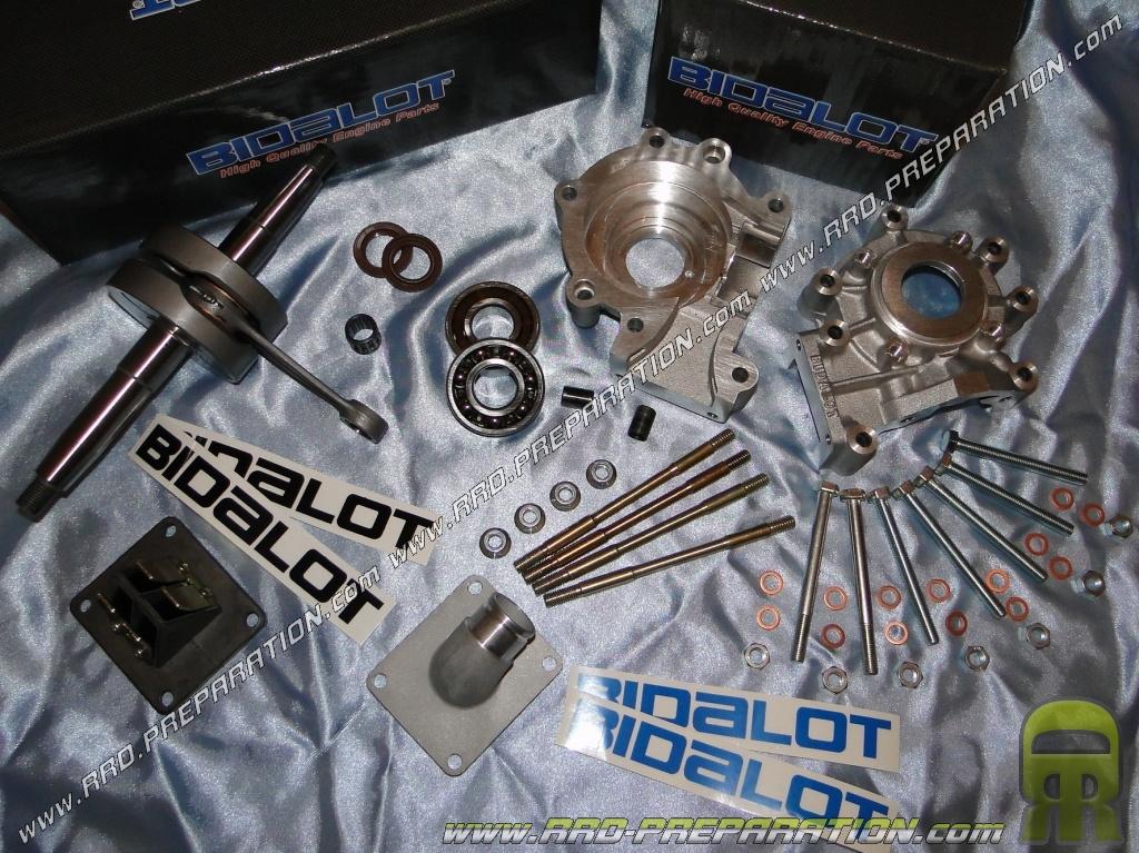 complete motor casings with crankshaft admission bidalot