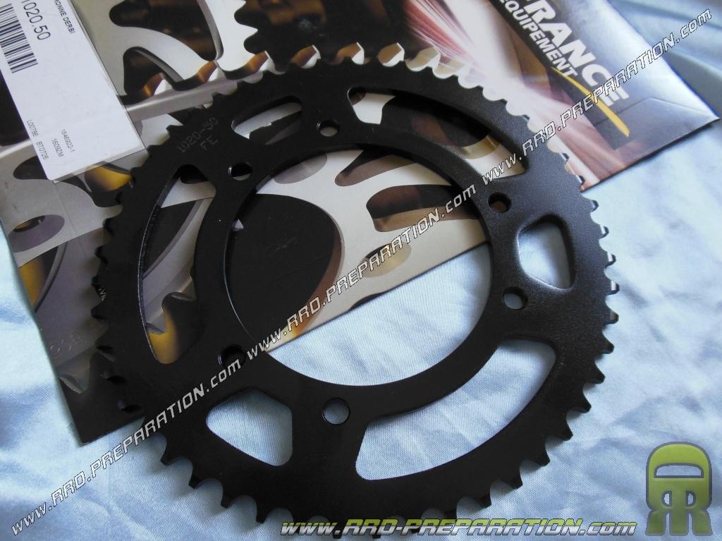 SX SM Senda Racing RS4 DERBI GPR Couronne AFAM 53 dents 420 pour APRILIA RS 50cc Nude