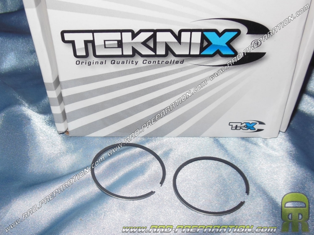 2 chrome segments 40x1 2mm for high teknix engine derbi euro 1 2 3. Black Bedroom Furniture Sets. Home Design Ideas