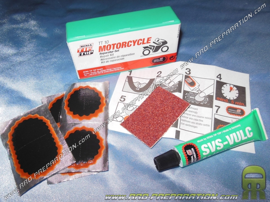 Kit Riparazione Cicli Tip-Top Tt-Bike 01 Cycle-Rep