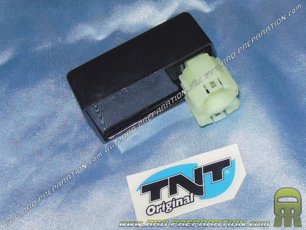Housing CDI TNT for lighting of origin for scooter 50cc, 125cc 4-stroke  GY6, PEUGEOT V CLICK, KYMCO GY6     - www rrd-preparation com